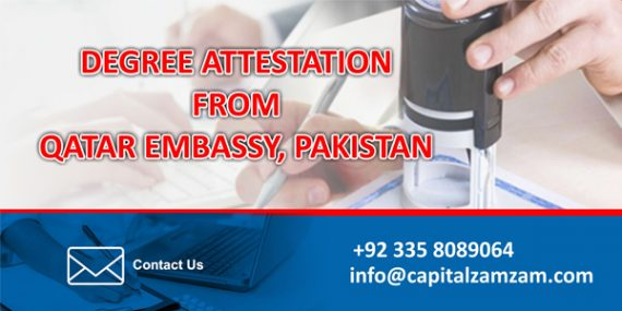 Degree-Document Attestation Services from Qatar Embassy